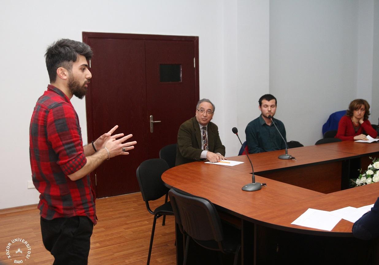 First TEDxKhazarUniversity Rehearsal