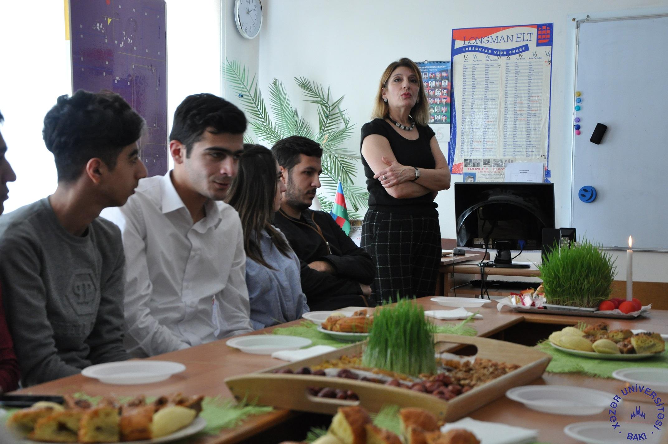 Tarix və arxeologiya departamentində Novruz bayramı qeyd olundu