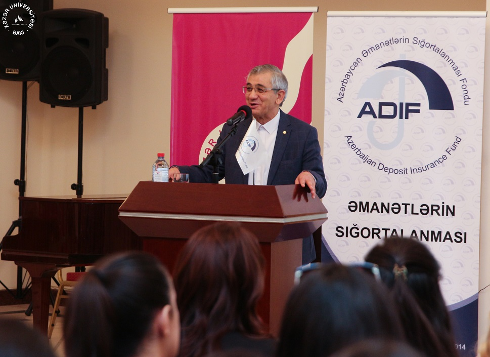 """Financial Literacy"" Seminar at Khazar University"