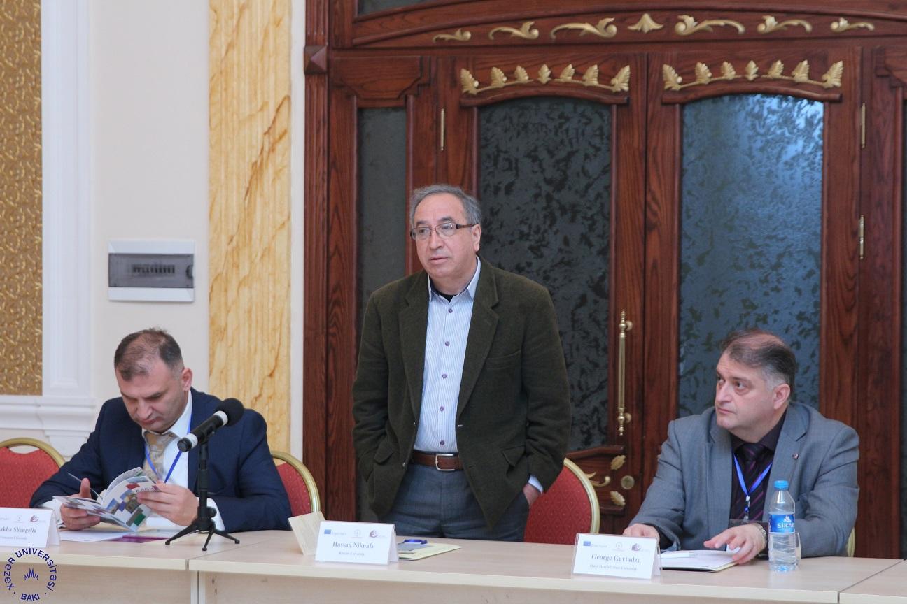 AESOP project meeting held at Khazar University