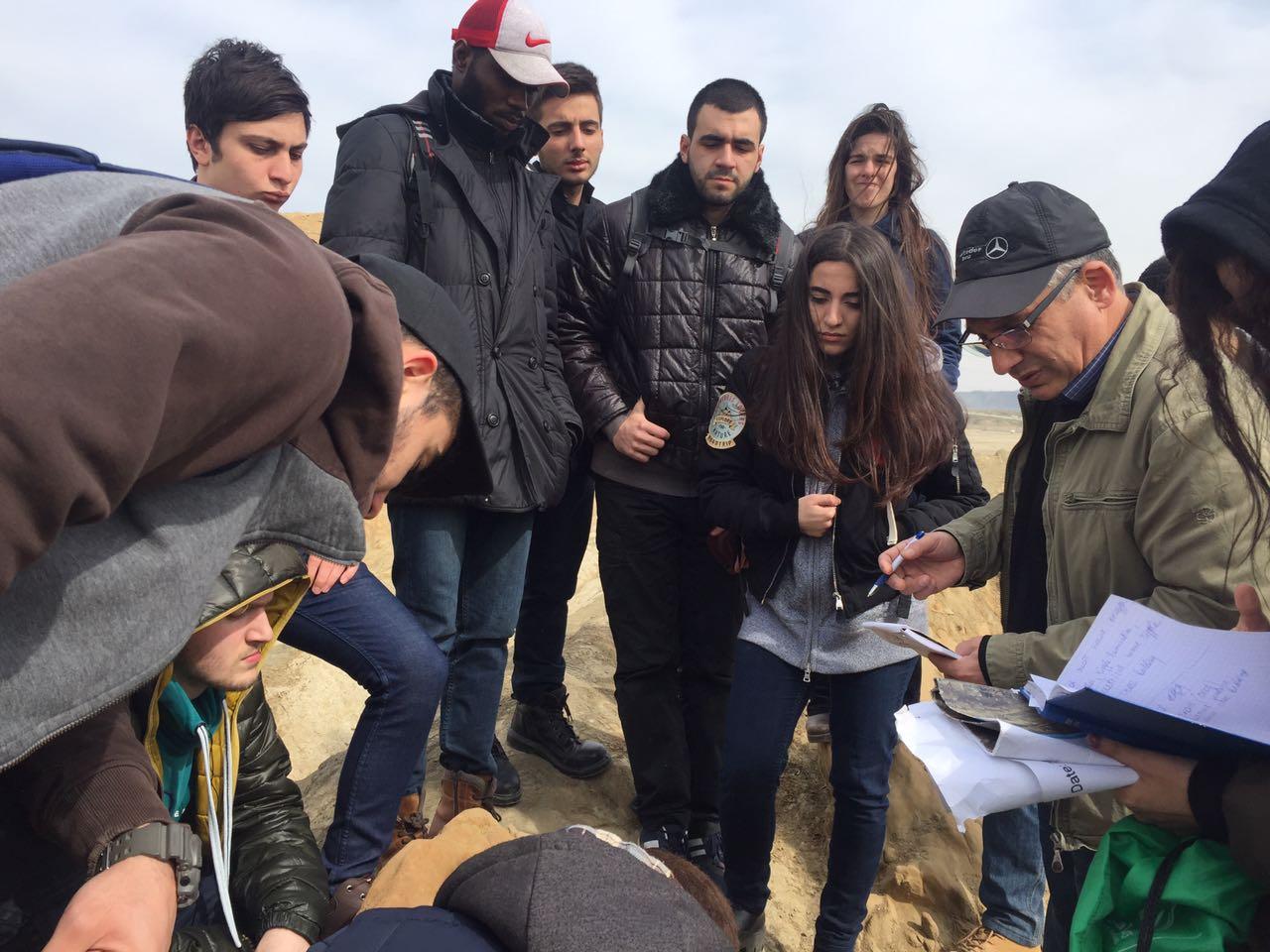 Khazar University Students' Field Work