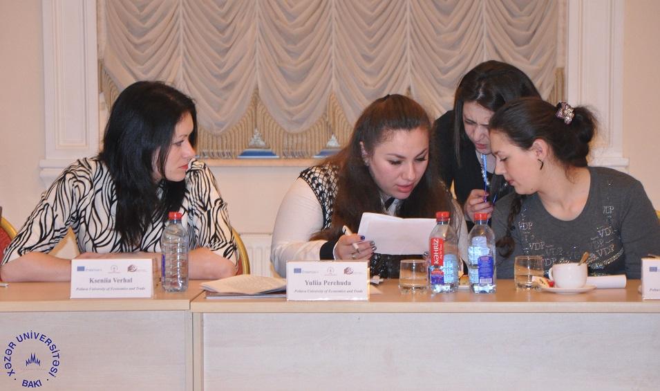 Second Erasmus+ AESOP project meeting held at Khazar University