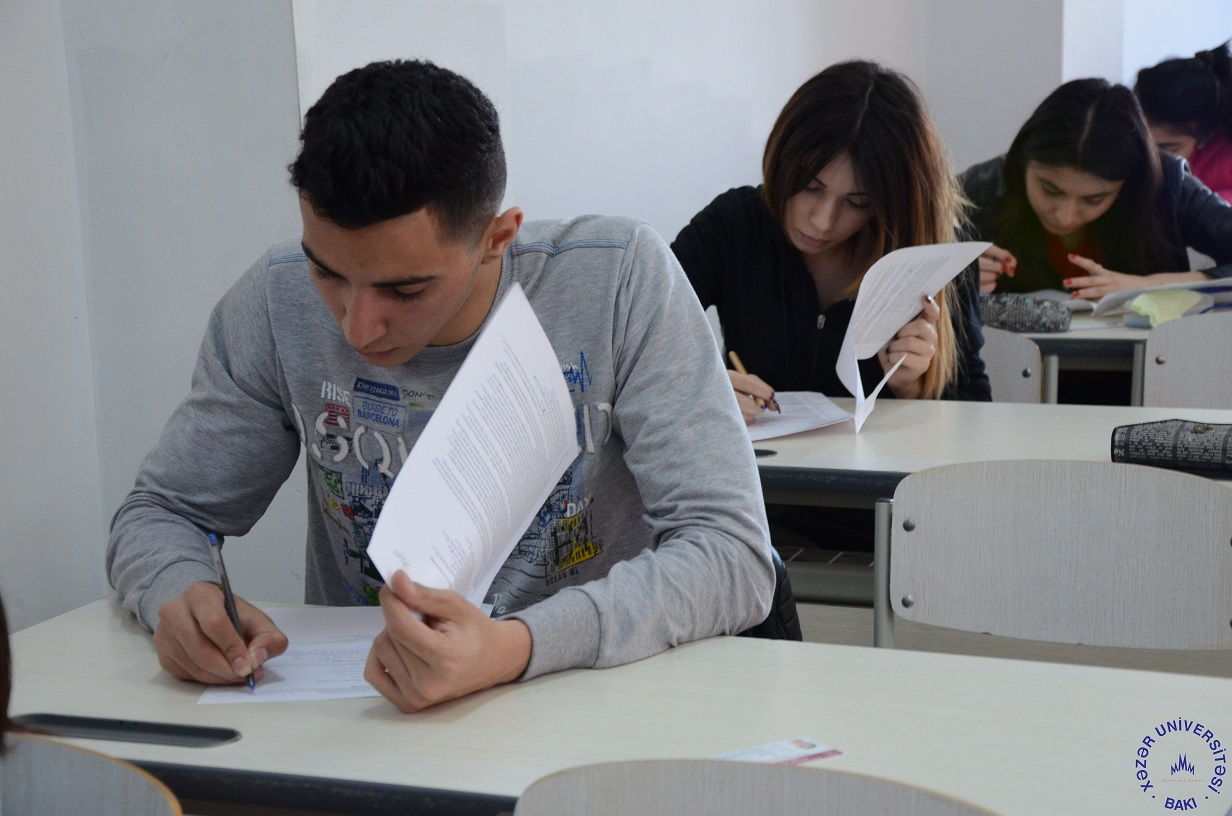 Examinations at Khazar
