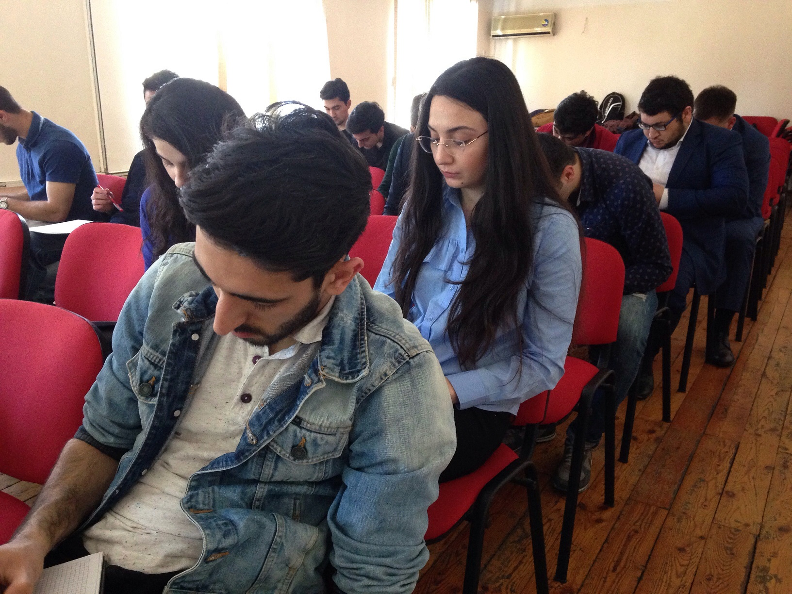 "Training of ""GR8"" Company for Khazar University Students"