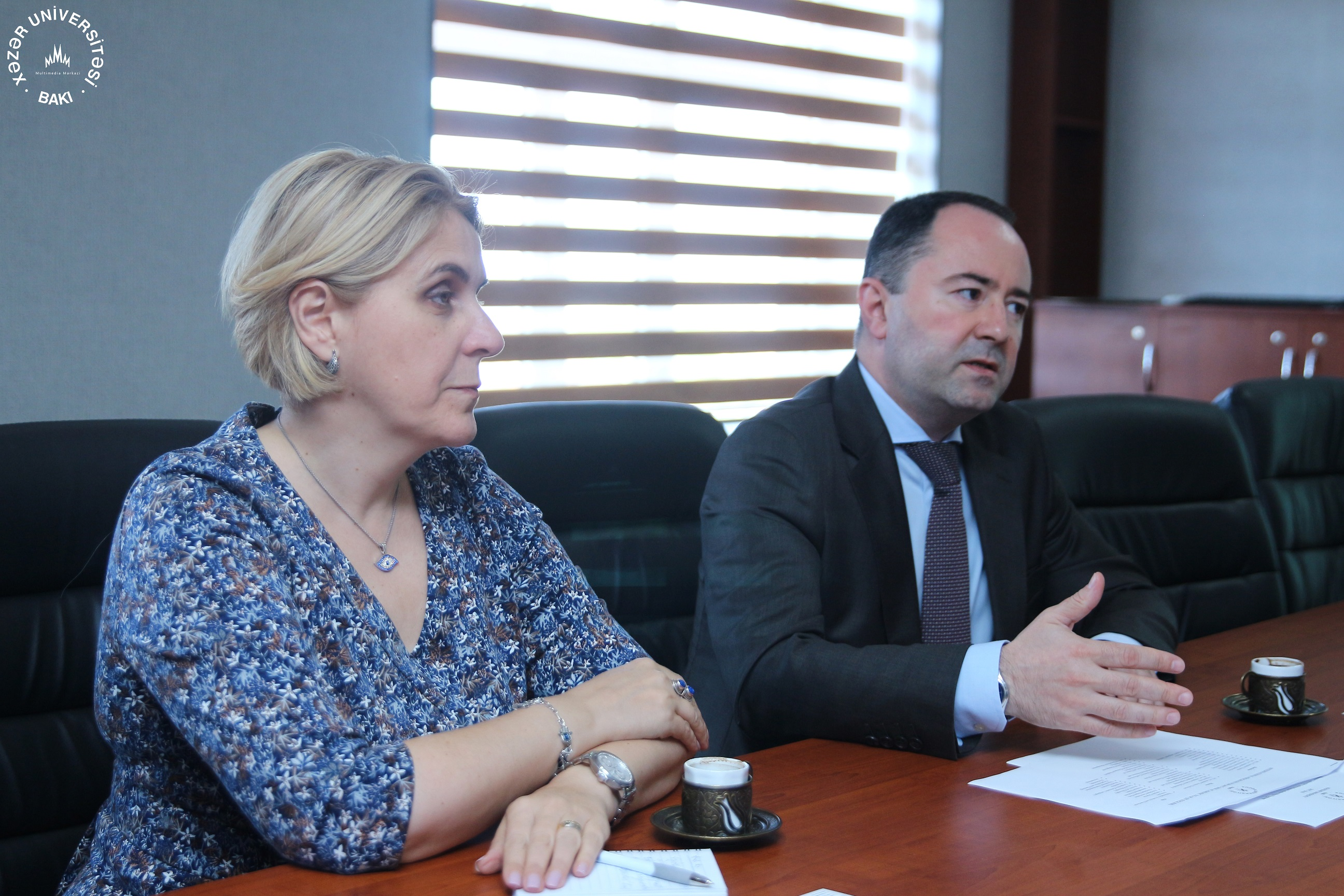 Romanian Ambassador to Azerbaijan Visits the Department of Political Science and International Relations