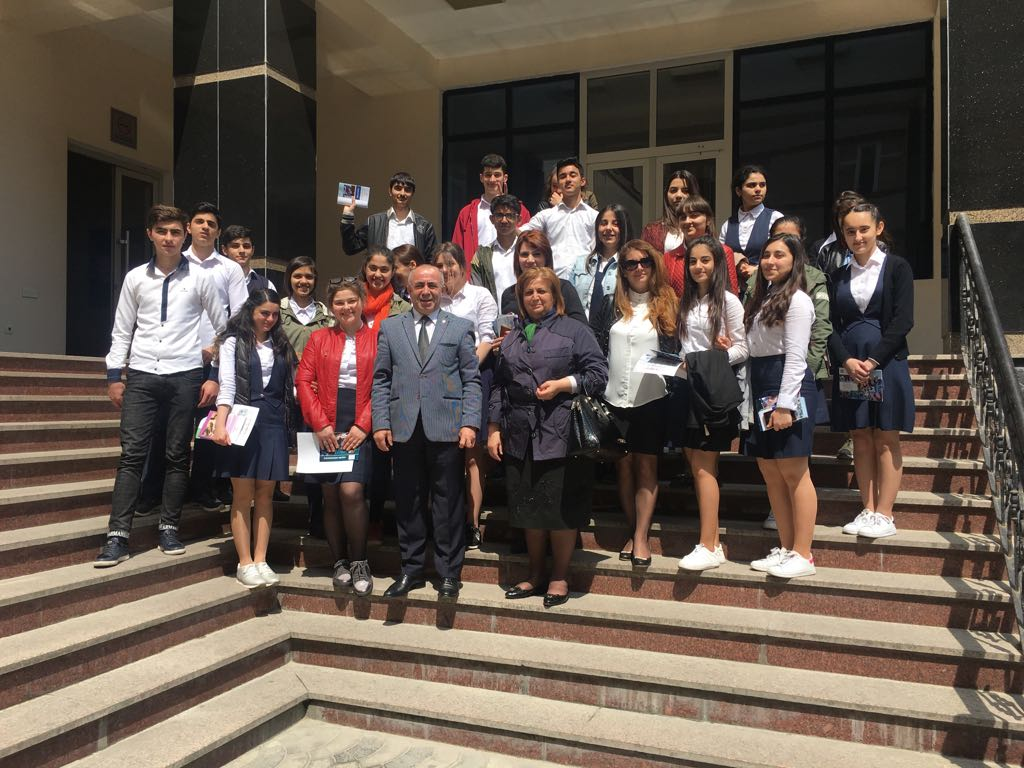 High Class Students of School № 32 in Nizami District at Khazar University