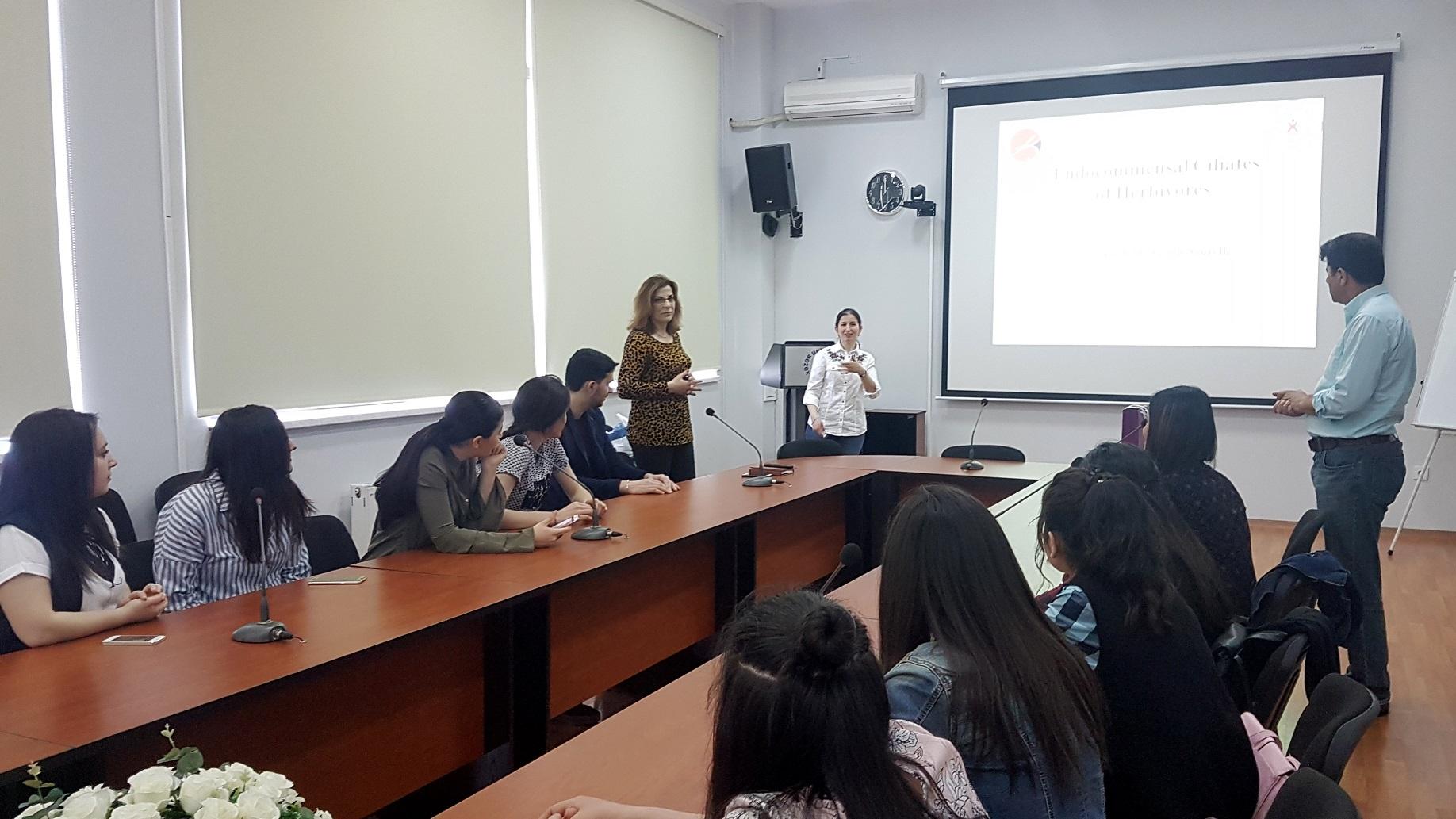 Instructor of Kastamonu University Hold Workshop at Khazar University