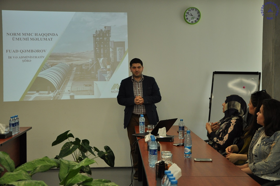 Students Observe Cement Production Process