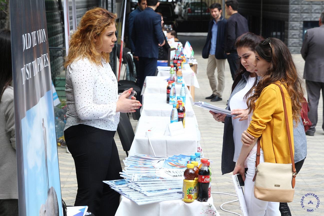 Xəzər Universitetində Karyera Sərgisi keçirildi