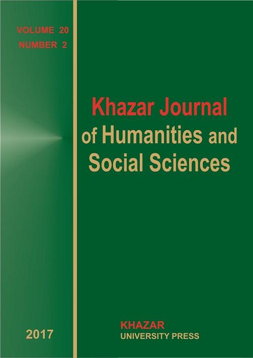 Khazar Journal of Humanities and Social Sciences jurnalının növbəti nömrəsi çapdan çıxıb
