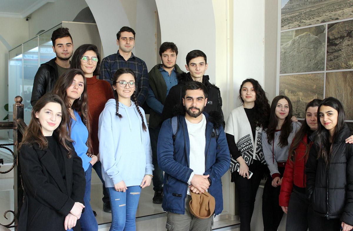 Arxeologiya və Etnoqrafiya Muzeyinə səfər