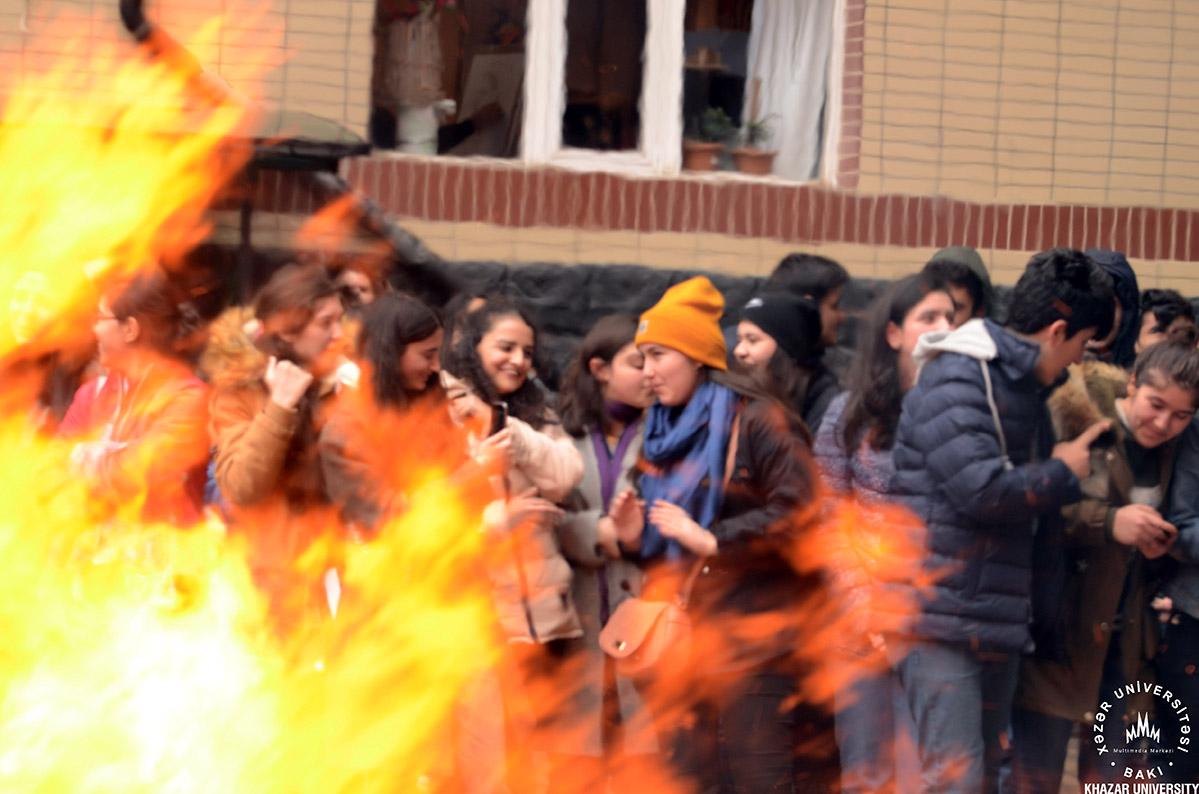 """""""Xəzər""""də Novruz şənliyi"""