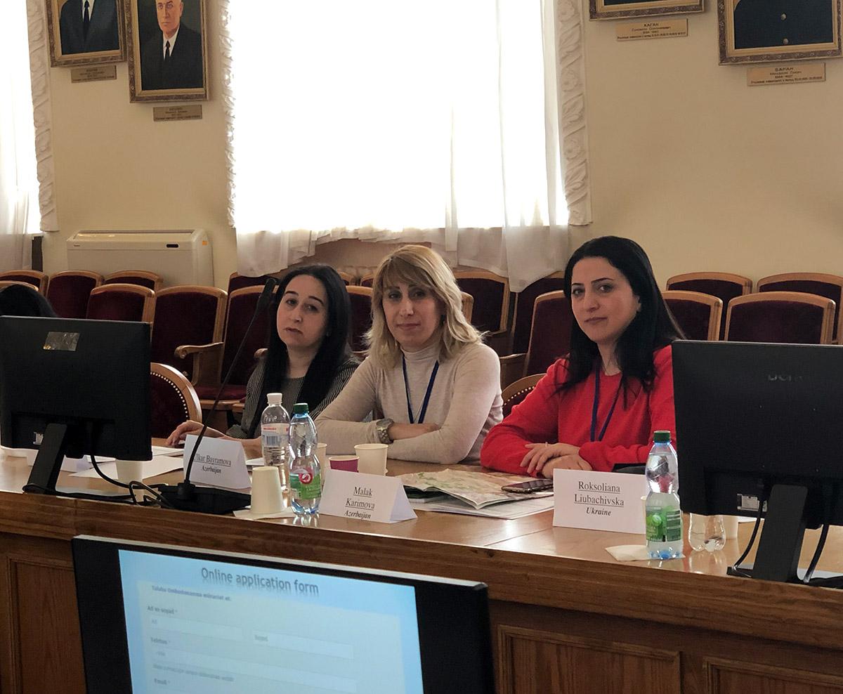 AESOP layihəsi çərçivəsində Kiyev Milli İqtisadiyyat Universitetində görüş