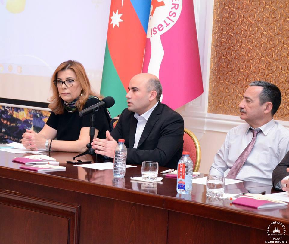 """İqtisadiyyat və menecment fakültəsi """"Turizm və davamlı inkişaf"""" adlı tələbə konfransı keçirdi"""