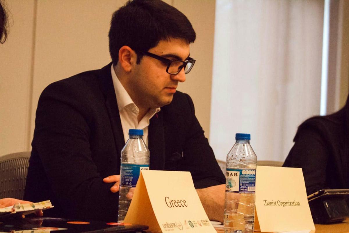Siyasi elmlər və Fəlsəfə departamentinin magistr tələbəsi BMT Modeli üzrə Milli Konfransda mükafatlandırıldı