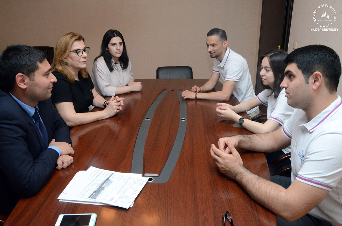 Khazar Students Has Been Selected for the Internship program at the European Parliament