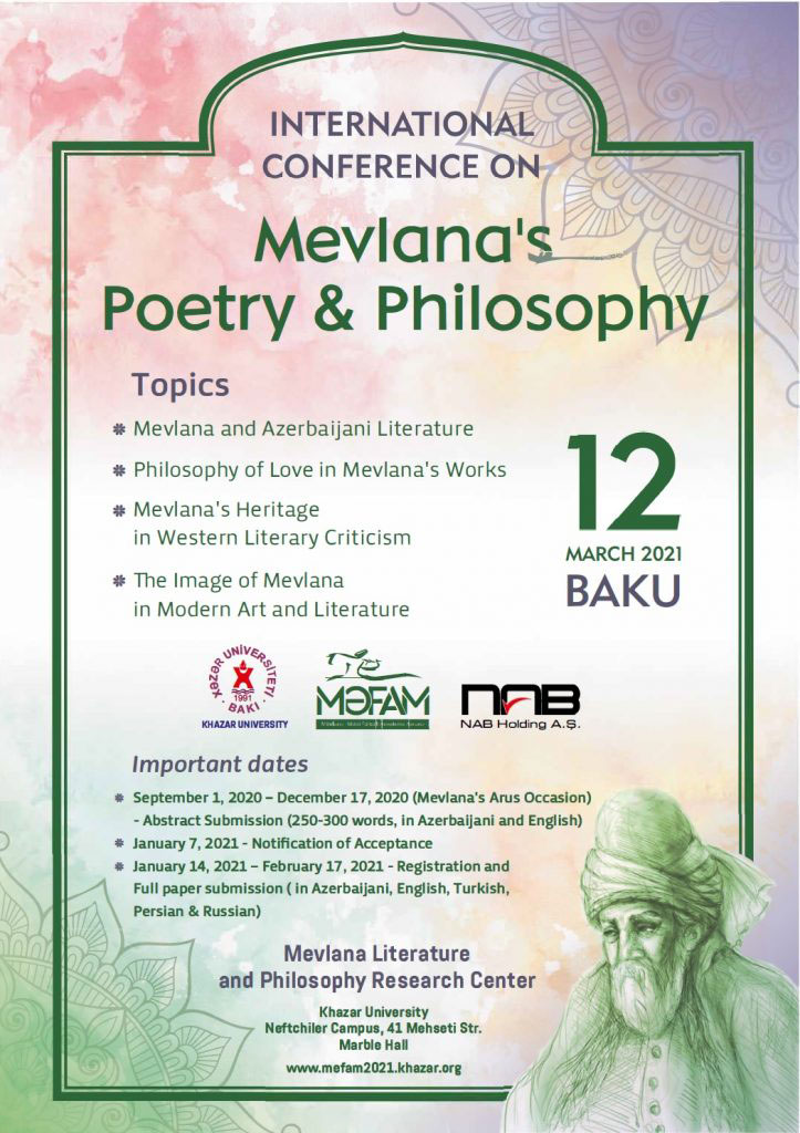 International Conference on Mevlana's Philosophy and Poetry