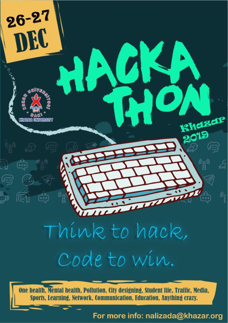 """Hackaton–2019 Khazar University"" to Be Held"