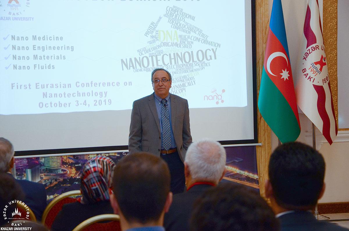 """Xəzər Universitetində """"Avrasiya Nanotexnologiya Konfransı – 2019"""" konfransı işə başladı"""