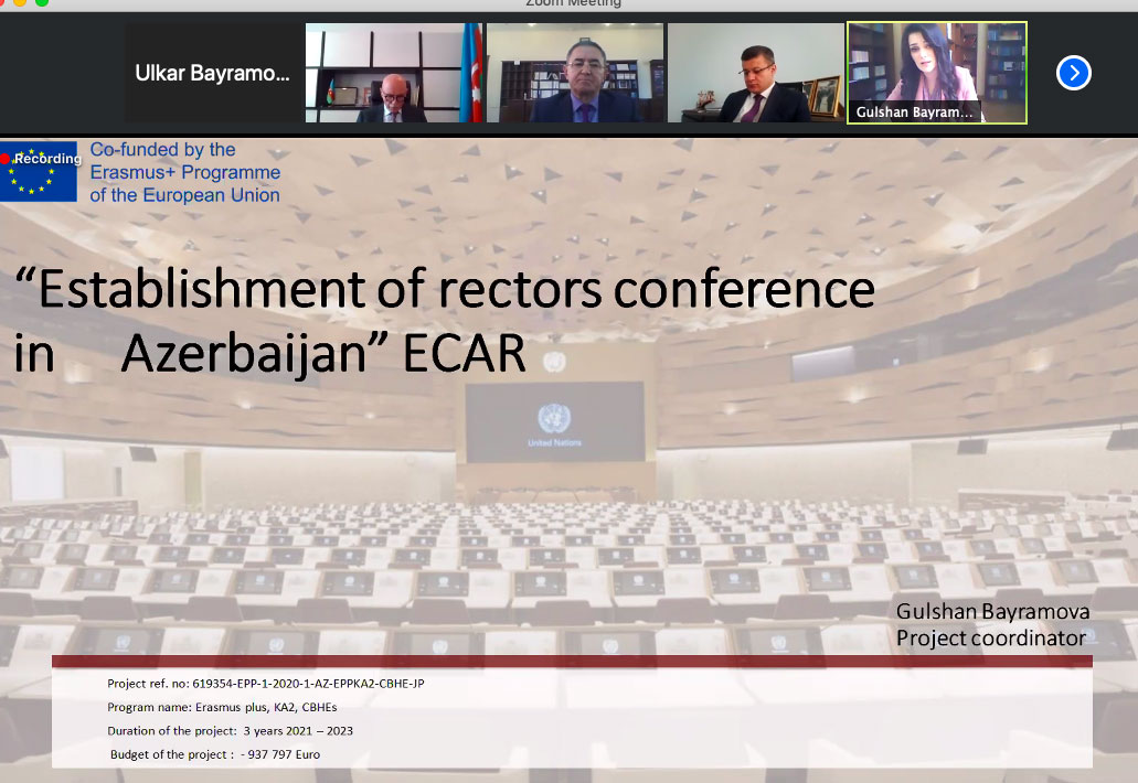 The first meeting of Board of the Erasmus+ ECAR project