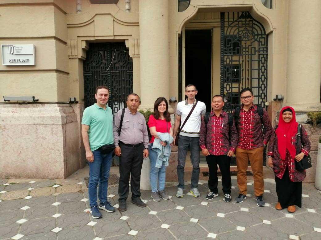 Employees of Khazar University visited Timişoara University