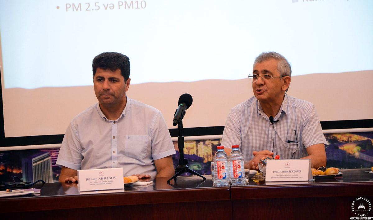 Khazar Air Quality Lab Presentation