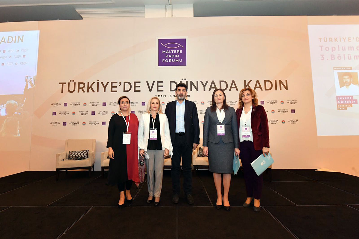 AZERTAC Reports about Khazar University's Dean Delivering Speech at International Forum in Istanbul
