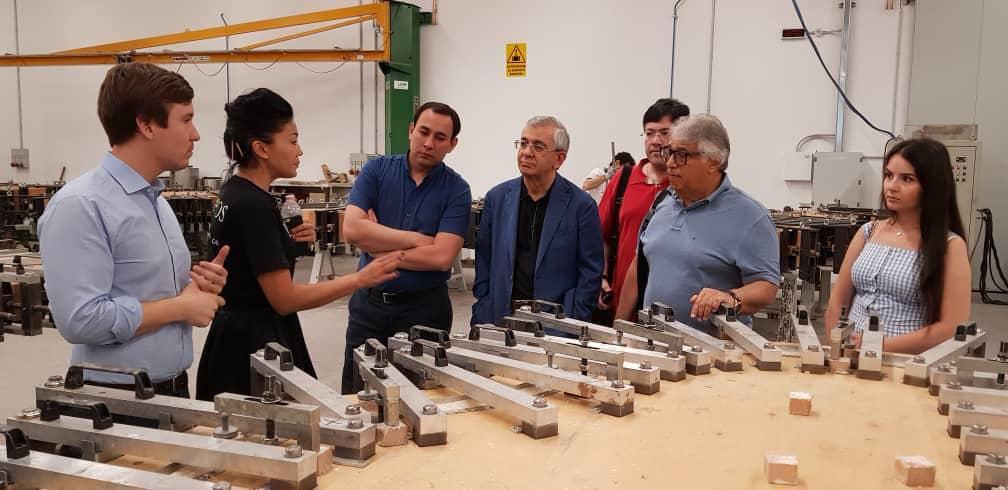 Hamlet Isakhanli Visited Famous Italian MusicalInstrument ManufacturingCompany