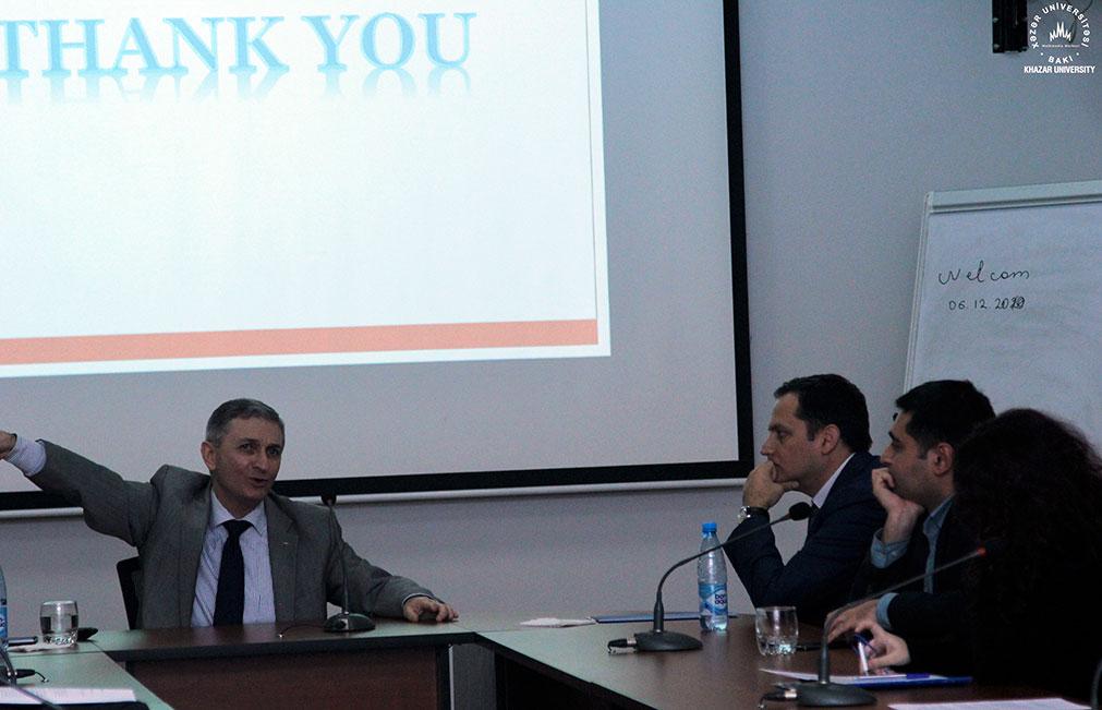 Palestinian Ambassador Visits Khazar Univesity