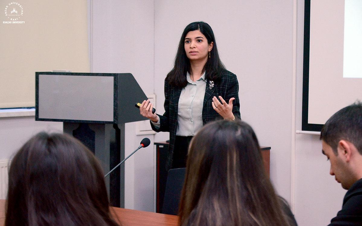 """KPMG Azerbaijan"" Staff Met with Students"