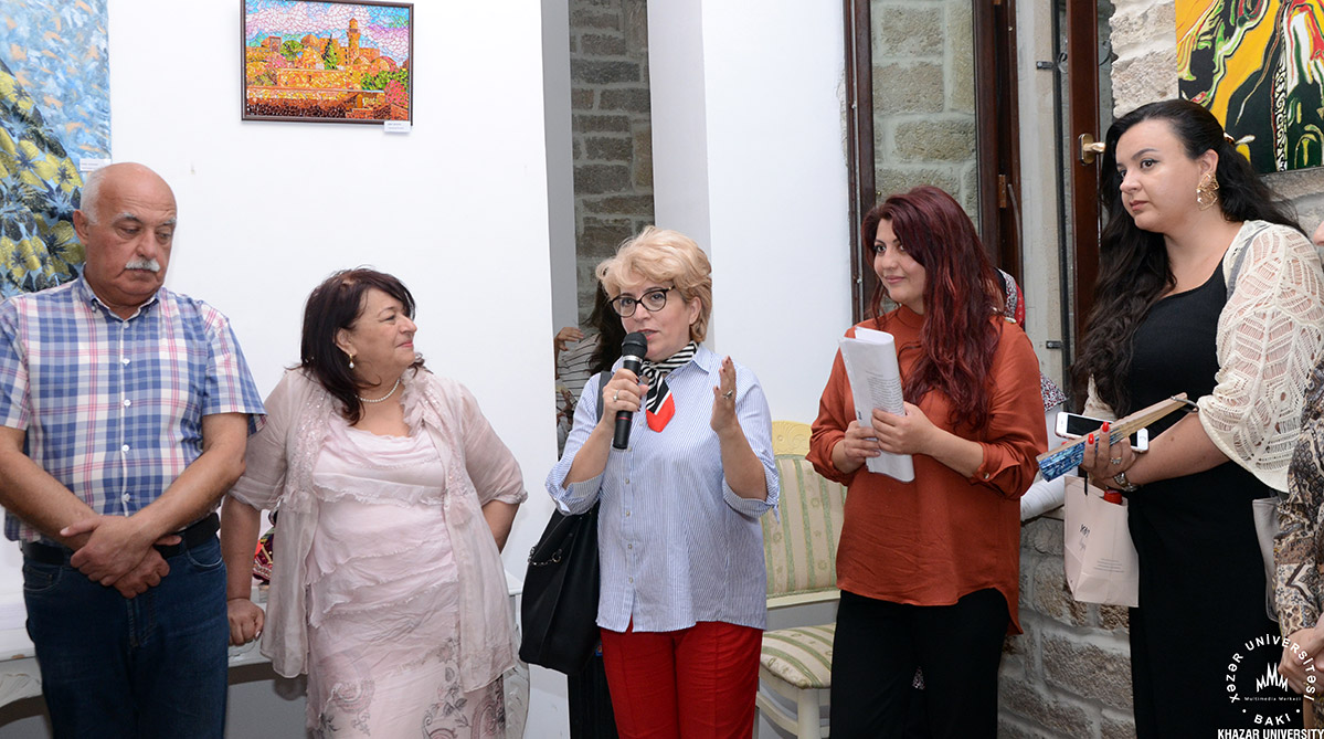 Exhibition of Fine Arts and Applied Arts Took Place