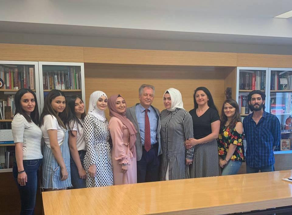 Khazar University Students on Summer Internship Program in Ankara