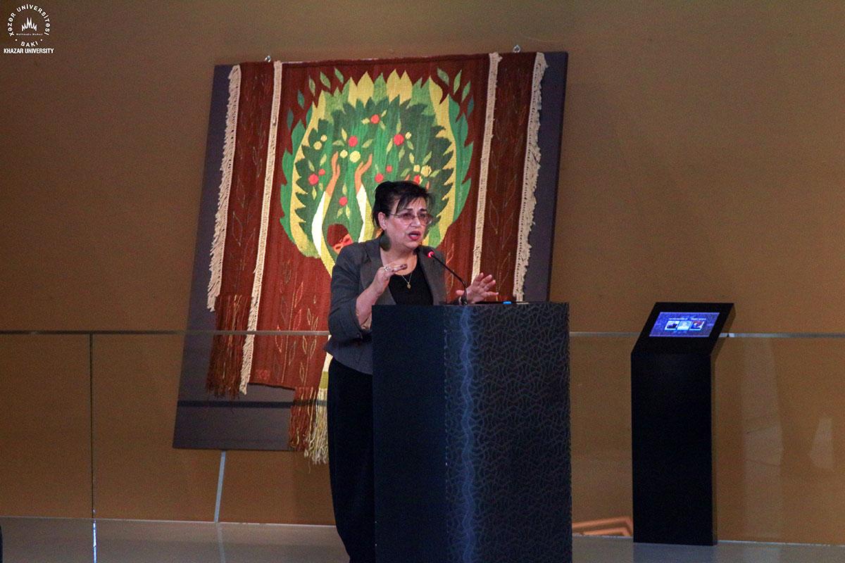 "Presentation of ""Narrative Carpets in Afag Karimova's Creativity"" at the National Carpet Museum"