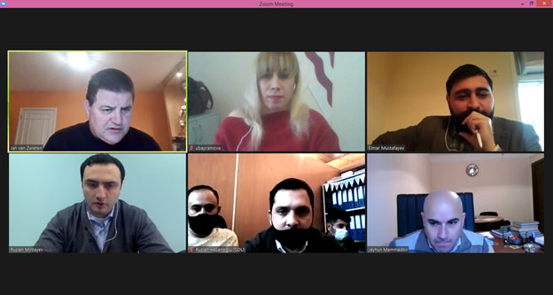 Virtual meeting with Azerbaijan Mediation Council within MEDIATS project