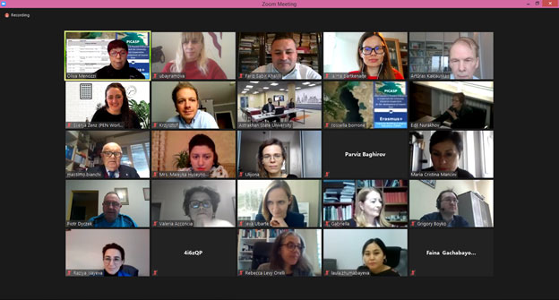 Erasmus+ PICASP Project Meeting
