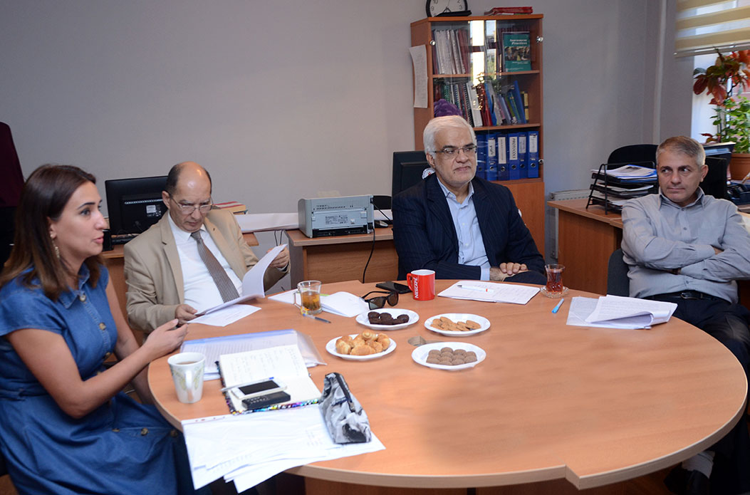 Discussion of Master Theses Held