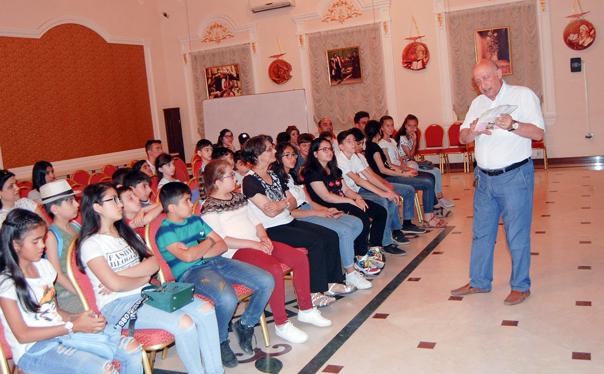 Students from Neftchala visited Khazar University