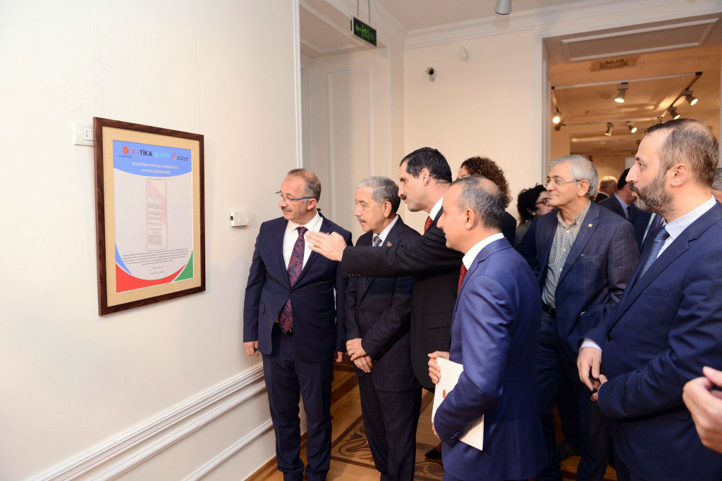 Hamlet Isakhanli Attended Exhibition Opening
