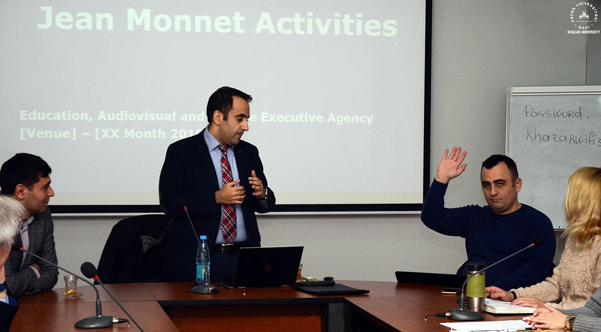 Informative Seminar about Erasmus+ Jean Monnet Programs