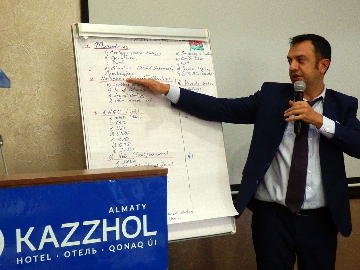 Khazar University Faculty Visited Kazakhstan