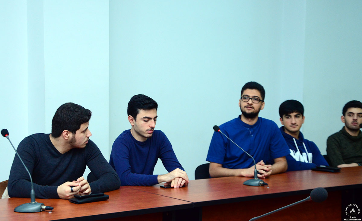 """""""P&G Caucasus"""" Company's Meeting with Students"""