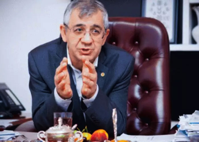 Interview with Professor Hamlet Isakhanli Published on Sherg.az