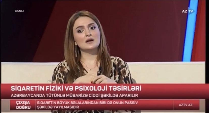 "Khazar Lecturer in AZTV's ""Toward Solution"" Program"