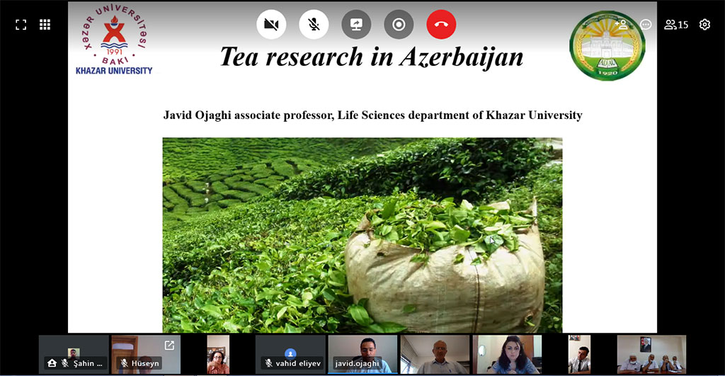 Khazar University and ASAU Held Conference on the Development of Tea Production
