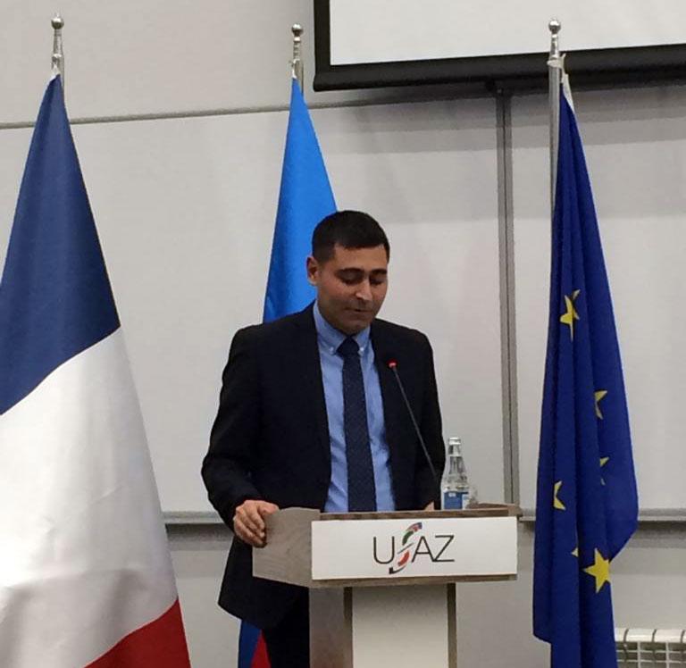 Departament müdiri Avropa Şurası konfransının moderatorluğunu etdi