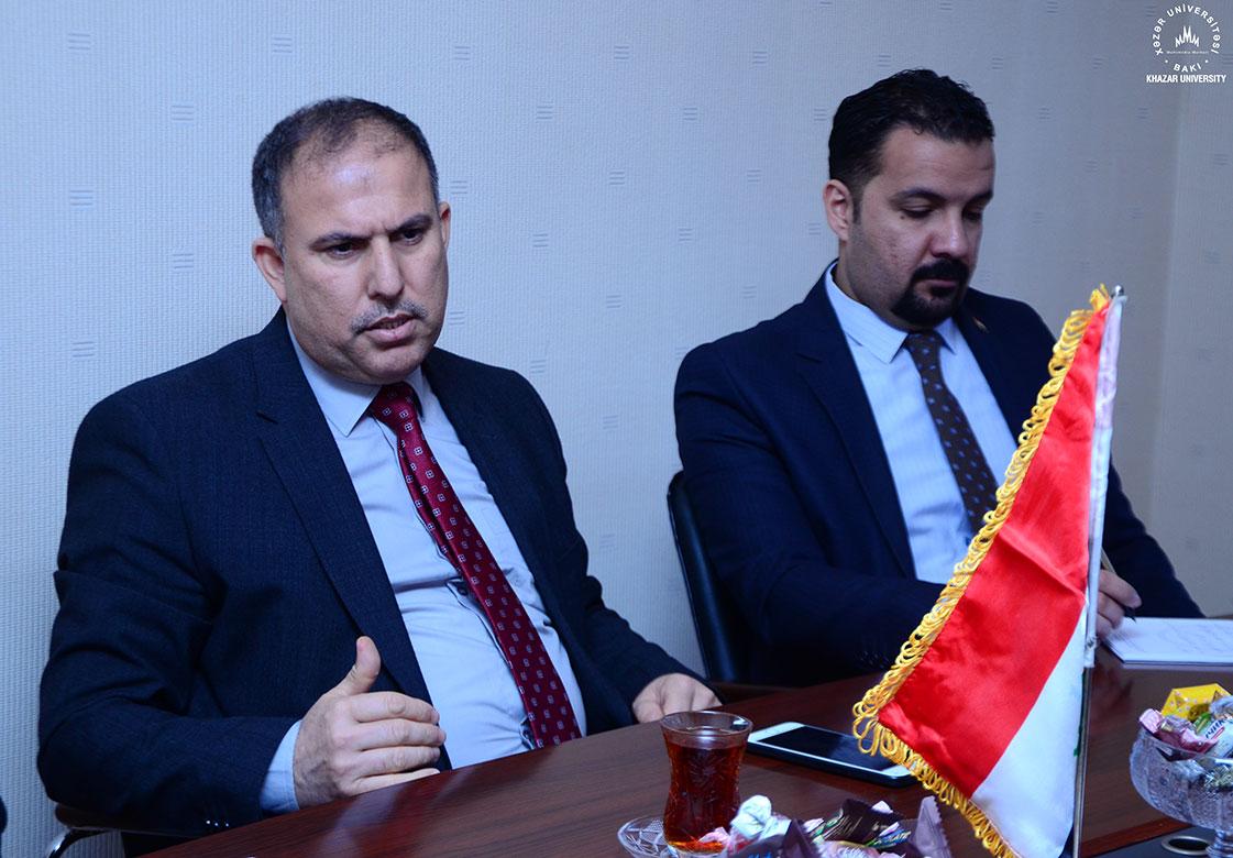 Ambassador of Iraq visited Khazar University