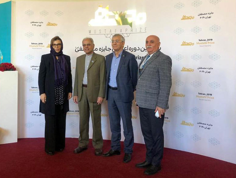 Khazar University's Representatives Participated in 6th STEP and Mustafa Prize Ceremony, Iran