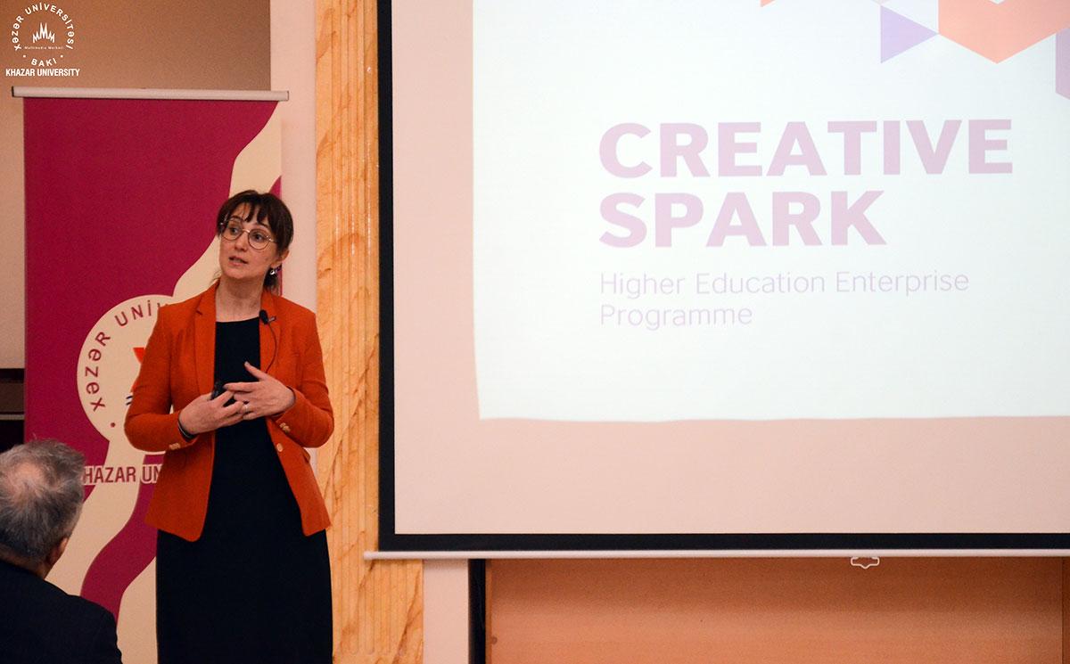 """""""Creative Spark"""" layihəsi çərçivəsində növbəti tədbir baş tutdu"""