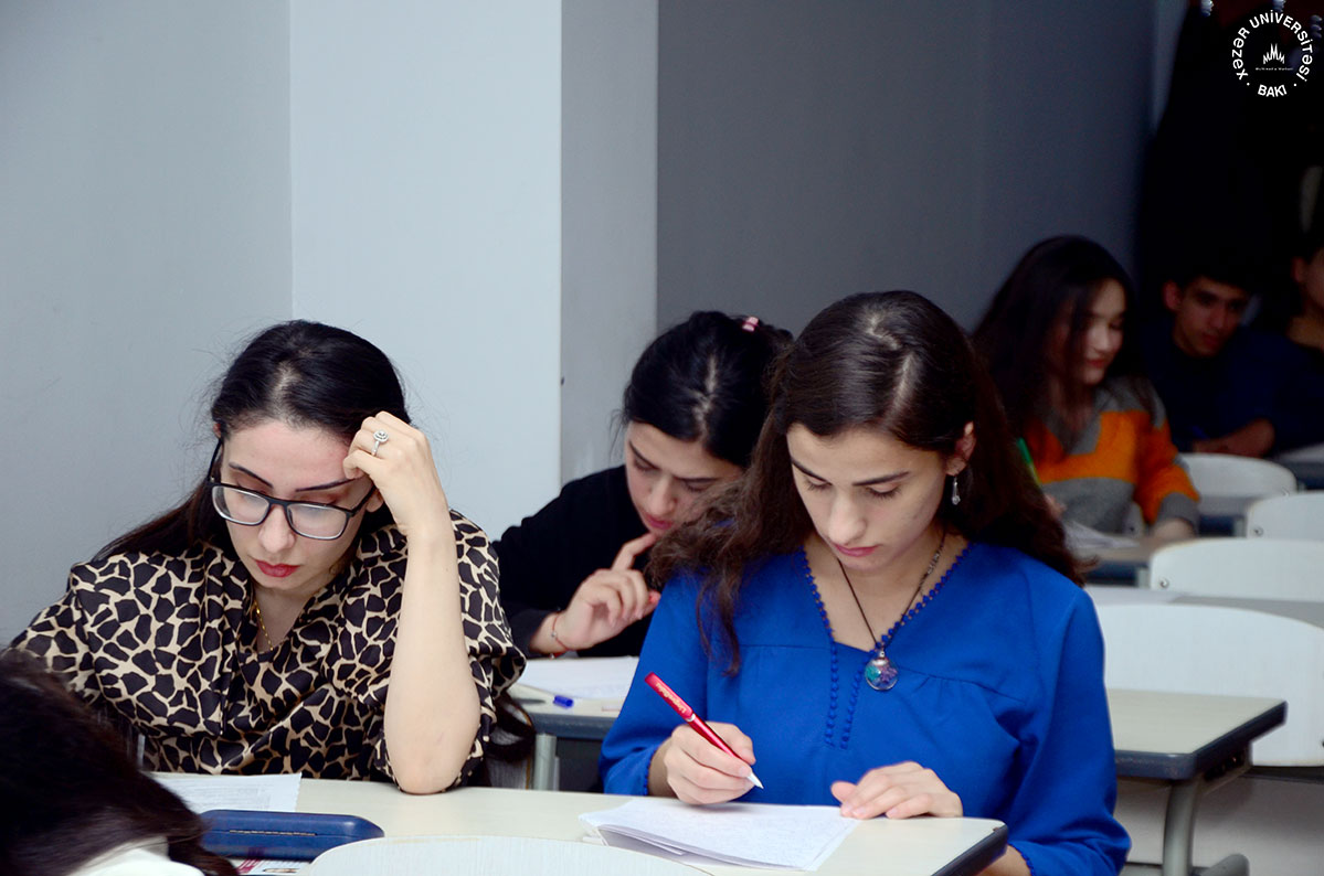 Midterm Exams of the 1st Semester at Khazar University – PHOTO SESSION
