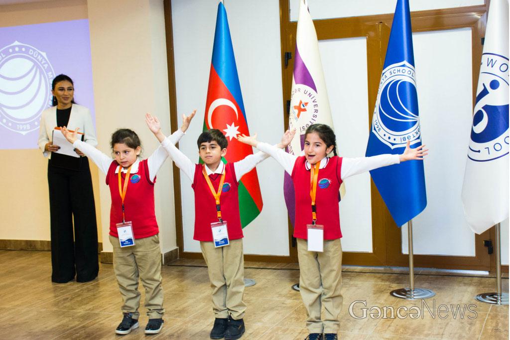 "Khazar University's ""Dunya"" School in Ganja"
